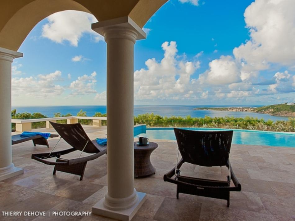 anguilla vacation villa rentals with kitchen